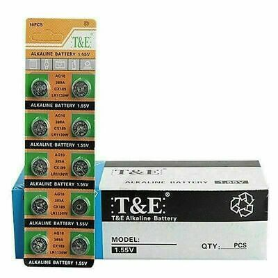 AU3.13 • Buy AG10 Aka G10, LR54, LR1130, LR1131, L1131, SR1130,Alkaline Button Batteries 10pc