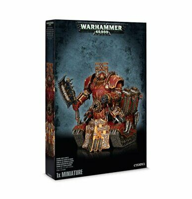AU169.95 • Buy Chaos Space Marines Khorne Lord Of Skulls Warhammer 40k