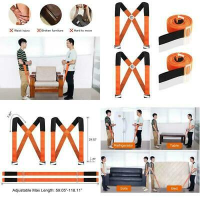 AU36.99 • Buy Heavy Furniture Appliances Moving Straps Rope Belt Transport Lifting System Tool
