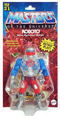 $39.99 • Buy ROBOTO 2021 Masters Of The Universe Motu NEW He-man Sealed WAVE 3 Action Figure
