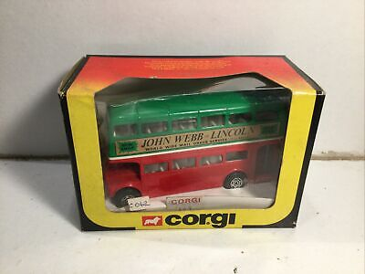 $ CDN17.22 • Buy Corgi 469 Double Decker Routemaster Bus John Webb Of Lincoln Near Mint In Box