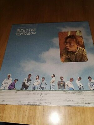 Pentagon Positive Kpop Album With Photocard.  • 17£
