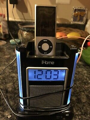 AU19.68 • Buy IHome IH4B Dock IPod/iPhone Alarm Clock Speaker System