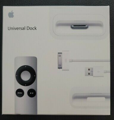 £36.36 • Buy Apple Universal Dock For IPod And IPhone USB 30 Pin MC746LL/A - Brand New!!