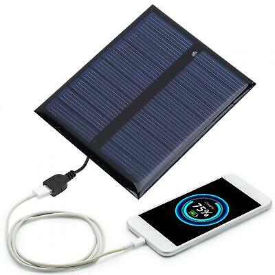 $7.89 • Buy 0.5W 5V Outdoor Portable High Efficiency Polysilicon Solar Panel Battery Charger