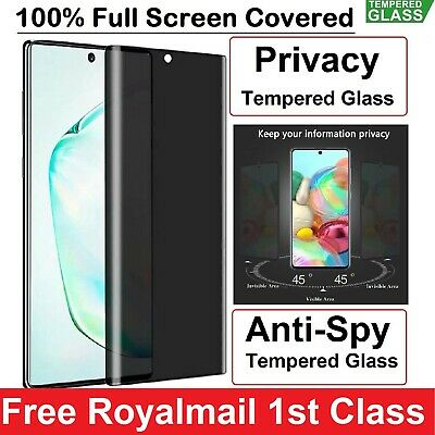 Privacy Tempred Glass Screen Protector For Huawei P30 P40 P40 Pro P40 Lite 5G  • 5.98£