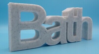 £10.80 • Buy  Bath  Word Home / Office / Shop Ornament - Arial Font