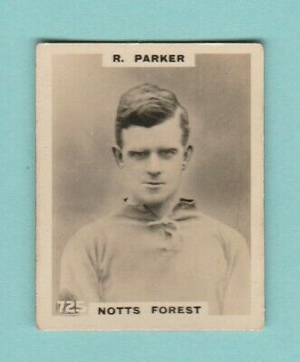 £2.95 • Buy Football - Phillips Pinnace - Card No. 725  -  Parker  Of  Notts  Forest -  1922
