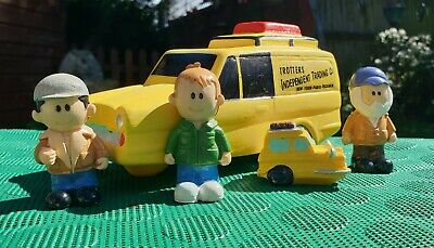 £16.05 • Buy Only Fools And Horses Figures With One 3 Wheeled Ceramic Money Box Van NEW