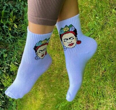 £3.99 • Buy Frida Kahlo Womens  Adults Cotton Scented Socks - Fits Most Uk Sizes 3-11