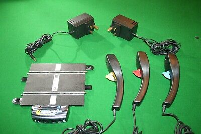 £12.99 • Buy Scalextric Power Straight, 3 Controllers, 2 Power Supplies C8217 Good Condition