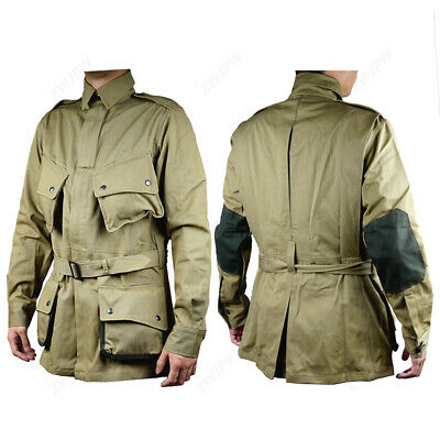 $50.04 • Buy WWII US Airborne M1942 Jacket American Paratrooper Repro Army D-Day Uniform