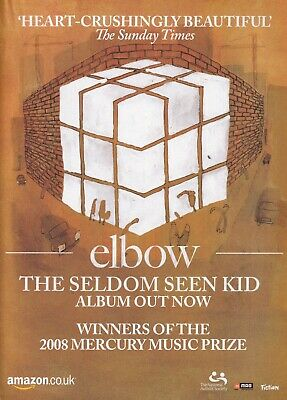 £4.99 • Buy Elbow - The Seldom Seen Kid - Mini Poster/Magazine Clipping