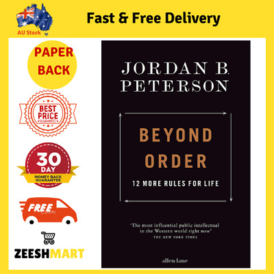 AU26.99 • Buy Beyond Order: 12 More Rules For Life By Jordan B. Peterson | Paperback Book NEW