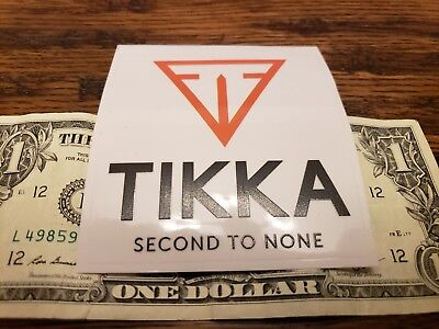 $ CDN5.67 • Buy OEM Original Tikka Second To None Vinyl Sticker/Decal Tactical Rifle