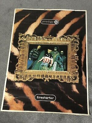 £24.99 • Buy Official 1996 The Prodigy 'Firestarter' Poster / Keith Flint