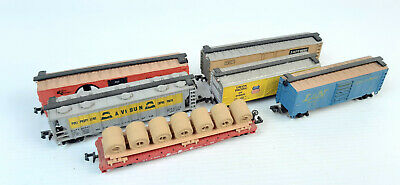 AU18.50 • Buy Bachmann Model Power Etc Mixed Freight Cars X 6 Good Cond Unboxed N Gauge(uv)