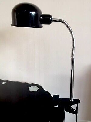 £17.95 • Buy Maxx Black Metal Tall Flexible Clamp Lamp By Verve Design Brand New Trial Price