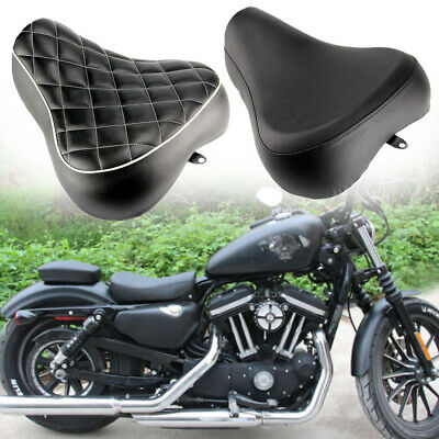 $129.55 • Buy Driver Rider Solo Seat For Harley Sportster XL 883 1200 72 48 83-03 Motorcycle