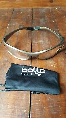 £9.50 • Buy Bolle Spipsi  Spider Cycling Safety Glasses Riding Sports En166 Ppe Clear