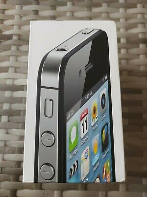 £6.99 • Buy Genuine Apple IPhone 4S 16 GB Empty Box Black /WITHOUT ACCESSORIES