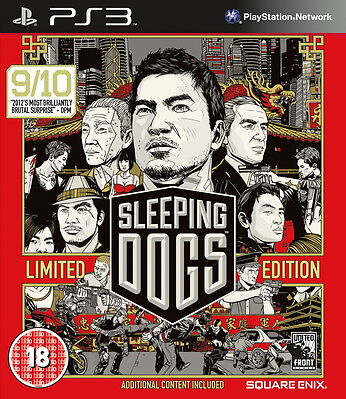 £10 • Buy Sleeping Dogs -- Limited Edition (Sony PlayStation 3, 2012)