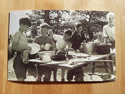 £1.95 • Buy Nostalgia Collectable Postcard - Family Life - Boy Scouts Camping, 1949