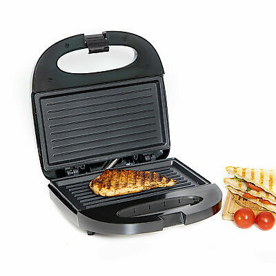 £22.95 • Buy Electric Healthy Panini Press Grill Non Stick Powerful Toaster Sandwich Maker UK