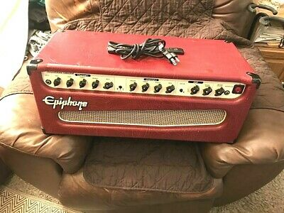 $ CDN372.27 • Buy Epiphone,Triggerman 100H DSP Guitar Amp Head RED TOLEX/Effects+Cord1,Owner,Clean