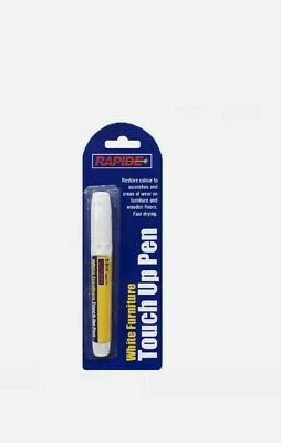 £2.87 • Buy White Furniture And Wood Touch Up Scratch Repair Permanent Marker Pen NEW SEALED