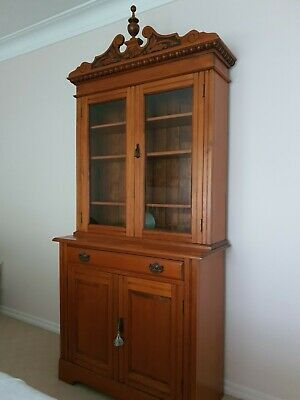 AU600 • Buy Antique Edwardian Bookcase/Cabinet