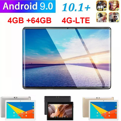 AU89.99 • Buy Android 9.0 8  Dual SIM 4G 2.5D Tablet PC 4+64GB Dual Camera Phablet 2.0GHZ