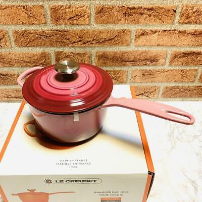 $ CDN449.99 • Buy Le Creuset Signature 1 3/4 Qt Saucepan Berry W / Box Manual NEW
