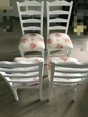 AU120 • Buy Dining Chairs White X 4