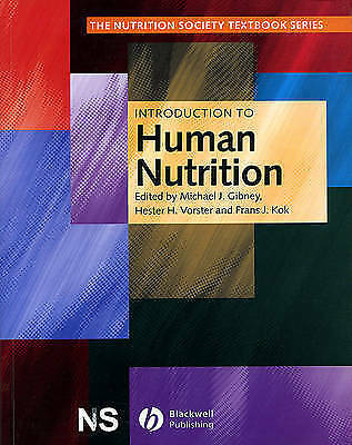 £12.50 • Buy Introduction To Human Nutrition (The Nutrition Society Textbook) Paperback Book