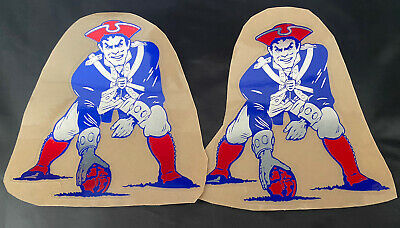 $22.95 • Buy New England Patriots Football Helmet Decals Full Size High Quality Chrome !!