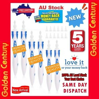 AU33.69 • Buy AU 6x Ear Wax Removal Remover Tool Ear Cleaner Q-Grips Pick Swab Handle 96 Tips