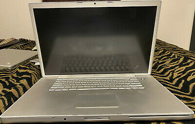 $90 • Buy Apple MacBook Pro 17 Inch 2006 Model A1151 Entire Computer, With Remote
