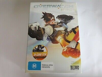 AU12 • Buy Overwatch Origins Edition PC Game - USED Good Condition Includes Notepad & Cards