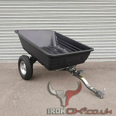 £249.99 • Buy Quad ATV Tipping Trailer | Iron Ox® | EQUESTRIAN OFF ROAD TRAILER | STABLES