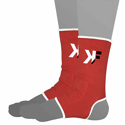 £3.99 • Buy Red Ankle Support Brace Compression Achilles Tendon Strap Foot Sprains Injury