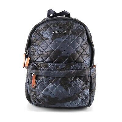 AU294.95 • Buy Mz Wallace Small Metro Backpack Camo Camouflage Blue Quilted