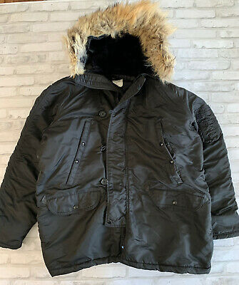 $118 • Buy Us Army Military Hooded Extreme Cold Weather Parka Type N-3b Sz 48