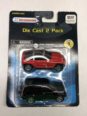 $ CDN48.34 • Buy Maisto Kid Connection - 2 Pack - Black Jeep Liberty & Jeepster - NEW !!