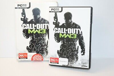 PC DVD Games - Call Of Duty - Modern Warfare 3 Inc Booklet Free Post • 11.20£
