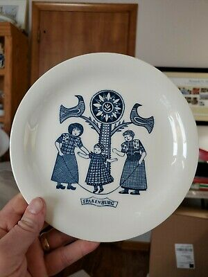 $6 • Buy DELFT ROYAL SPHINX MAASTRICHT PLATE  SPAKENBURG  8  MADE IN HOLLAND  Ex Cond