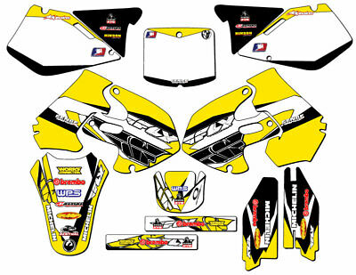 $184.99 • Buy 1999 2000 Suzuki Rm250 Rm 250 Graphics Kit 99 00 Decals Deco Stickers Motocross