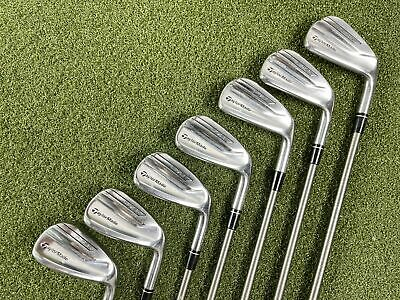 Taylormade P790 Iron Set 5-PW+AW SteelFiber I95 Regular Graphite Mens RH • 713.76£