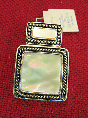 $ CDN10.04 • Buy Lia Sophia Pendant Slide Mother Of Pearl