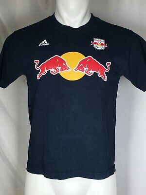 £8.71 • Buy New York Red Bulls MLS Adidas Youth Kids Size Thierry Henry T-Shirt Navy Blue XL